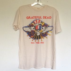 Grateful Dead Fall Tour 1982 Band Tee